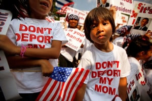 American born children struggle in broken families as their undocumented parents are deported.